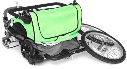Zzz  Zigo Leader X2 Carrier Bike (7 Spd) (Green)