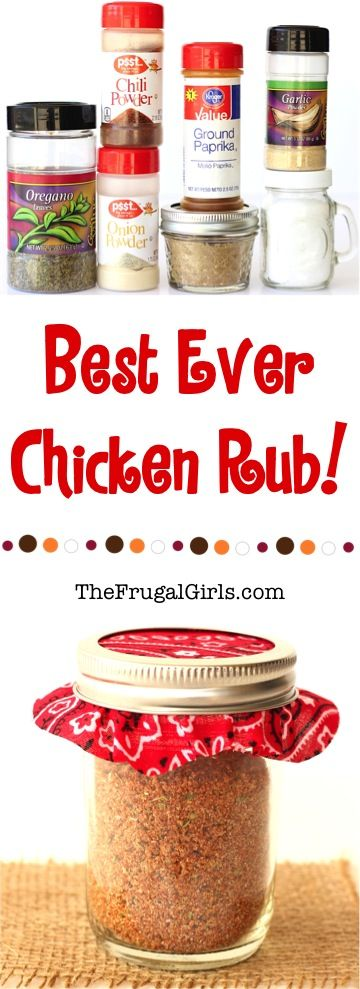If you are looking for the only dry rub you'll ever need, check out this Easy Chicken Rub Recipe! Use this dry rub on your chicken before grilling or baking… it's the Best! What You'll Need:  1/4 cup