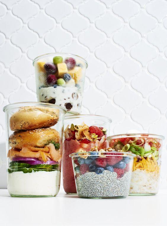 Frühstück im Glas: 5 Rezeptideen zum Mitnehmen…