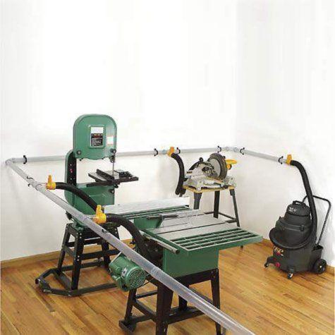 Shop Vac Saw Dust Collection System Herramientas De Carpinteria Tiendas De Madera Bancos De Trabajo