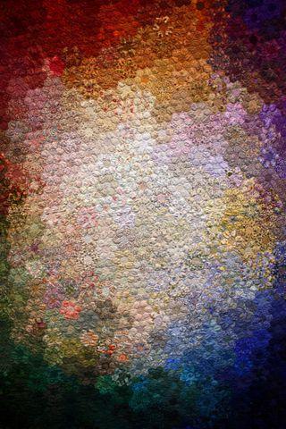 Hexagon colorwash