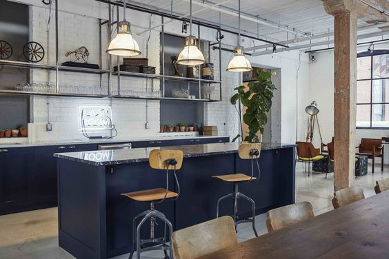 Take A Style Tip From The Eclectic Vintage Look Of This Toronto Co Working E East Room Opened In January 2017 As Joint Effort Between Derreck Martin