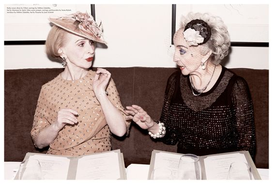 Ladies who lunch.: Marvelously Classy, Lass Ponystep, Fashion Editorial, Lass Photographer, Azoulay Stunning, Lass Andreas
