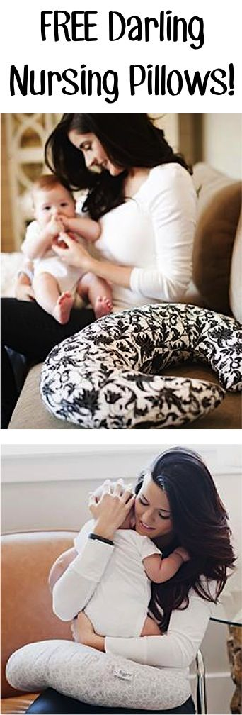 FREE Darling Nursing Pillows! {just pay s/h} ~ these make great Baby Shower gifts, too! | TheFrugalGirls.com