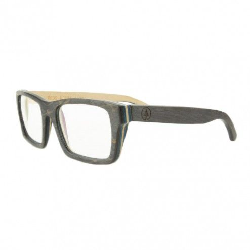 Bookworm Maplewood Skateboard Glasses - Black/Multi