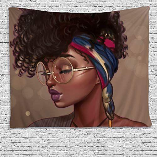 Sara Nell Tapestry African American Women Art Tapestries Https Www Amazon Com Dp B07g Tapestry Wall Art African American Art Women African American Women