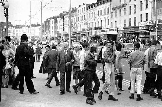Skinheads in Margate, Kent 1970's, Harold Chapman