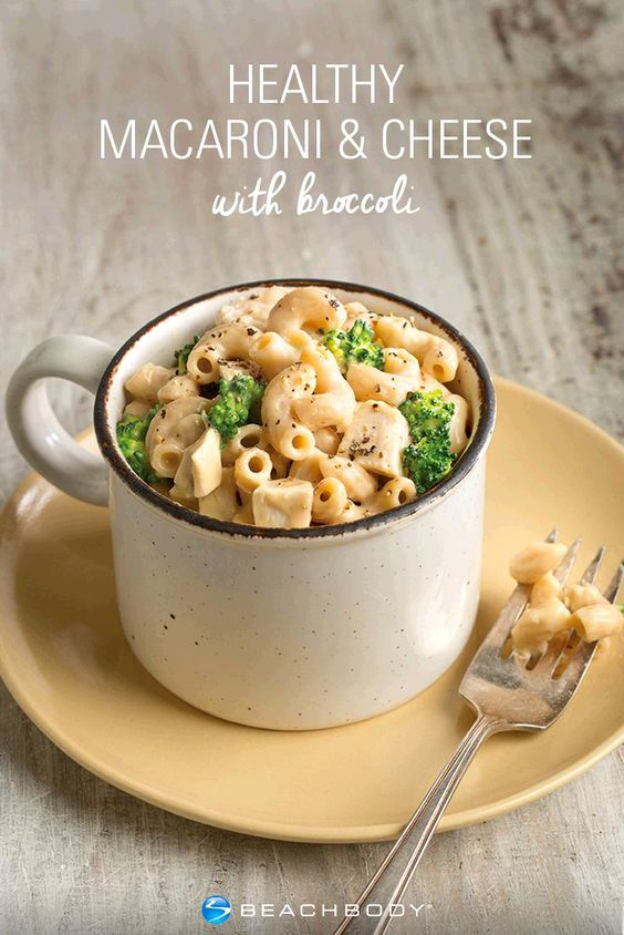 When Autumn Calabrese wants to indulge in a bowl of macaroni and cheese, this is how she does it. Get this mouthwatering recipe from her FIXATE cookbook. // 21 Day Fix Approved // Beachbody // BeachbodyBlog.com