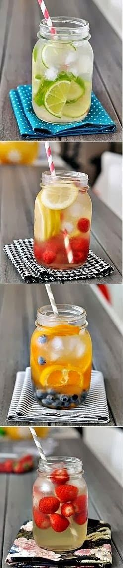 how to make detox water for skin