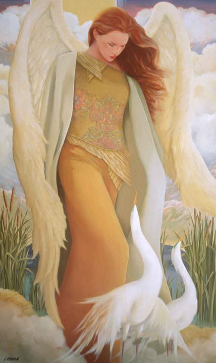 jacqueline Osborn Angel In Gold: