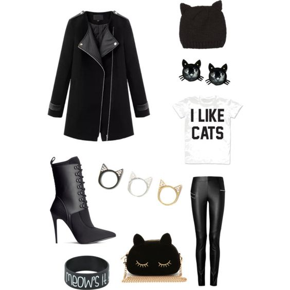 """I love CATS"" by ameliasglimmer on Polyvore"
