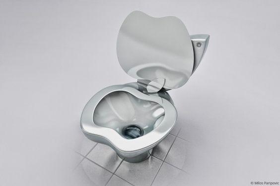 iPoo toilet- Milos Paripovic.  #AppleAdictos