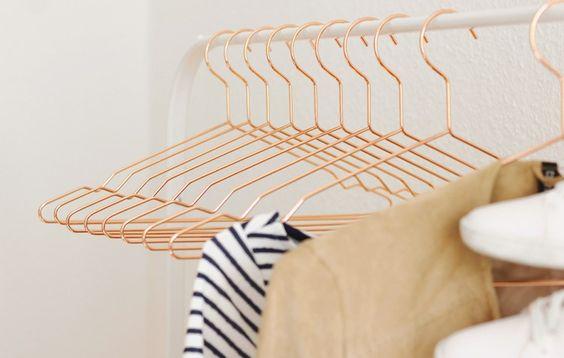 New Interiorlove: Copper Hangers by Hay