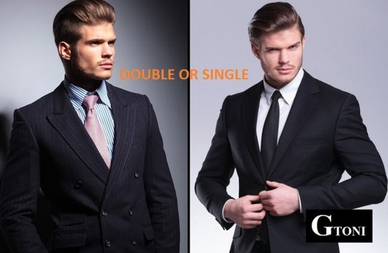Single or Double Breasted Suit? | GTONI Blog | Pinterest | Double ...