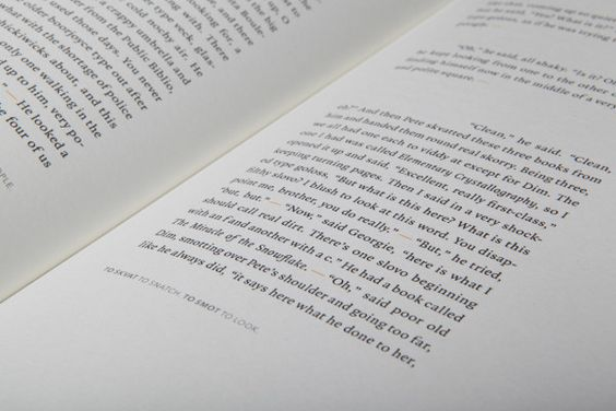 A Clockwork Orange – Thilo Schinkel   #editorial #typography #layout