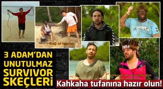 3 Adam Survivor Skeçleri (2016)