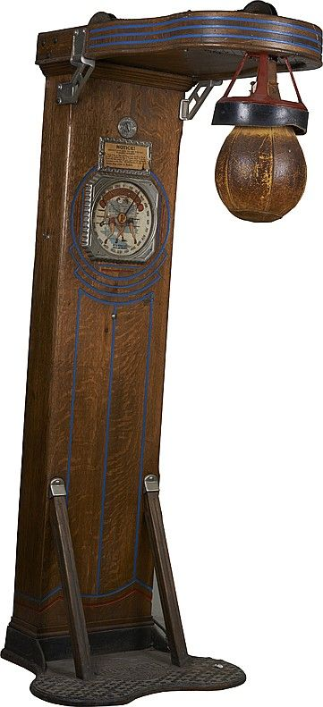 Do You Think This Would Be A Great Grandfather Clock Looking Portable Speedbag Martial Arts