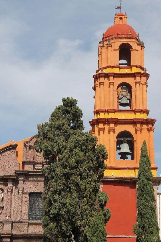 México. Campanario. San Miguel Allende.