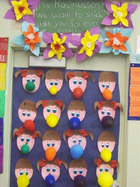Classroom Door Deco For March Door Decor Room Parents