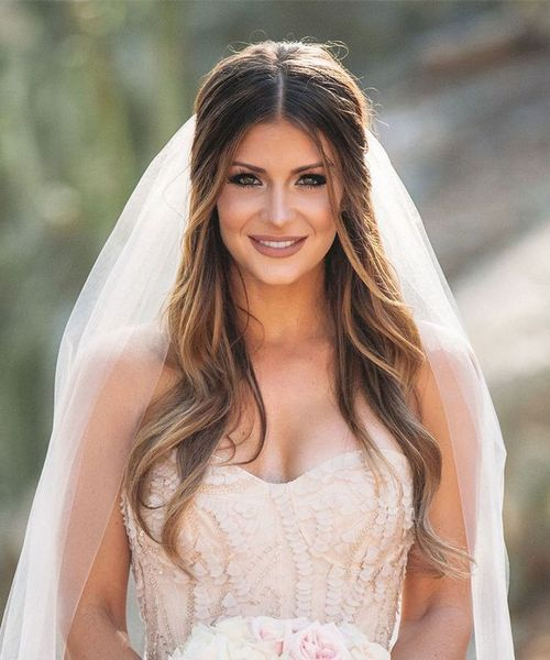 Wedding Hairstyles Down Are More Beautiful With Long Hair Styles Boost Bride Hairstyles Medium Hair Styles Hair Styles
