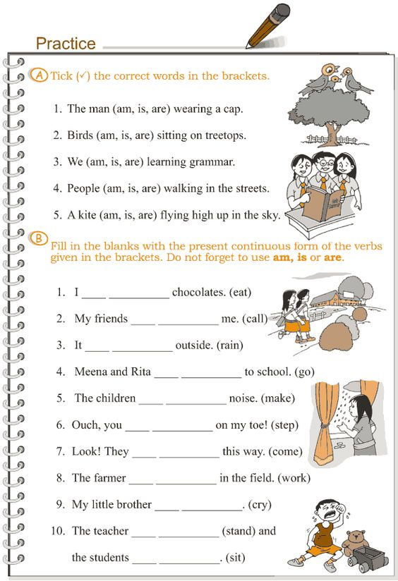Worksheets Continuous Tense Worksheet the ojays grammar lessons and presents on pinterest grade 3 lesson 8 verbs present continuous tense