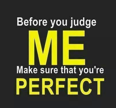 Are you perfect?