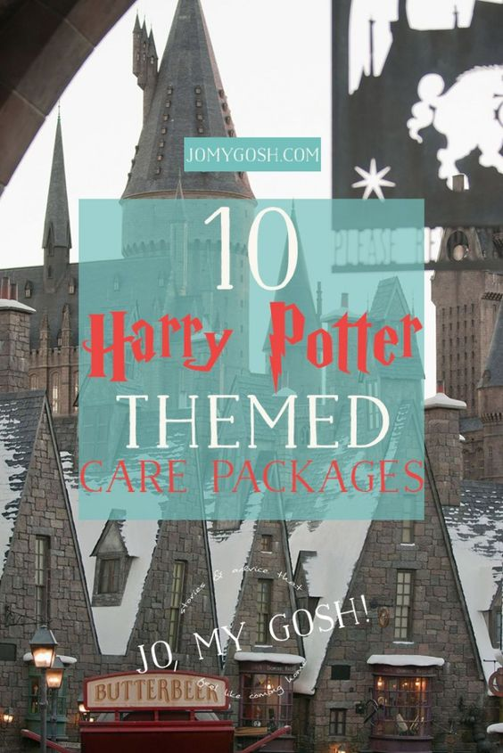 Care packages harry potter and gift ideas on pinterest for Harry potter christmas present ideas