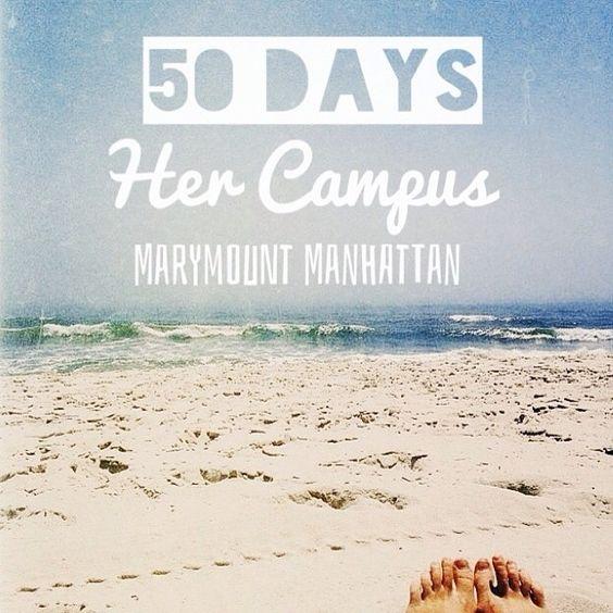 Her Campus Marymount Manhattan launches in 50 days!