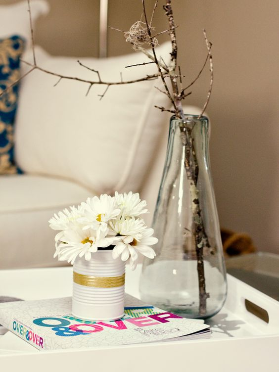 Washi Tape and Flowers