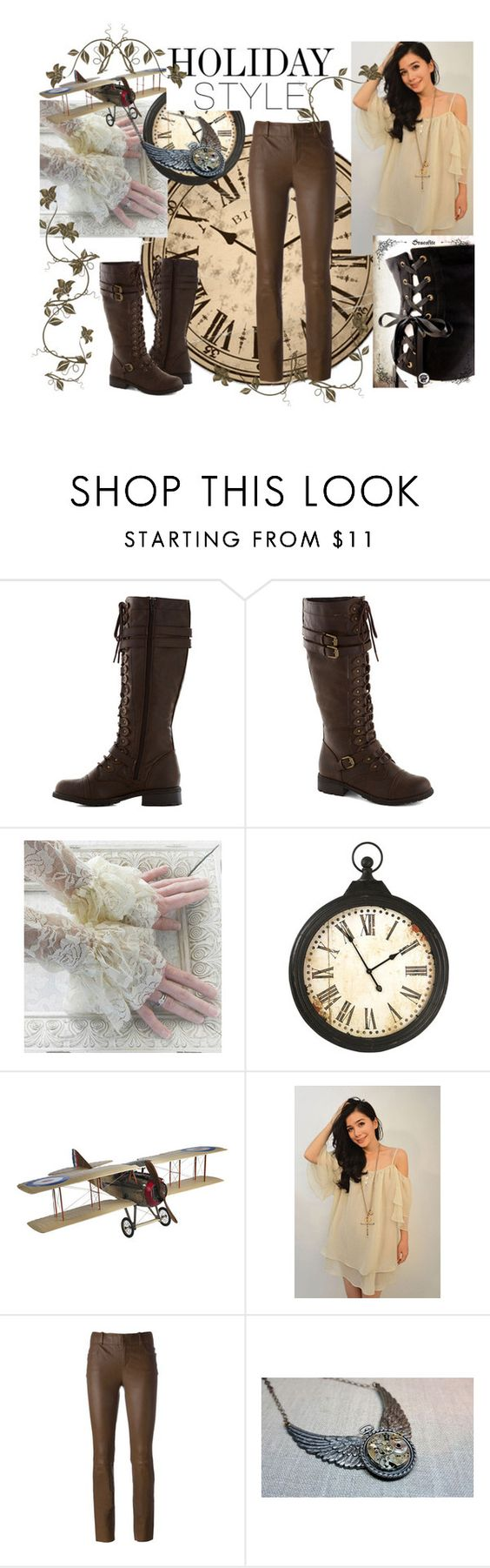 """Steampunk"" by crisvalx-cv on Polyvore featuring moda, Authentic Models y STOULS"