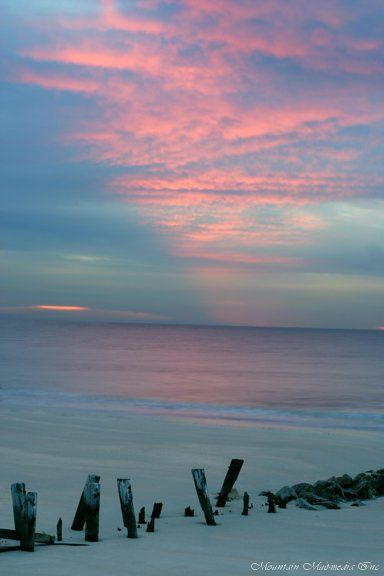 Folly-beach- SC - sunrise- lived in Charleston when dad was in the navy