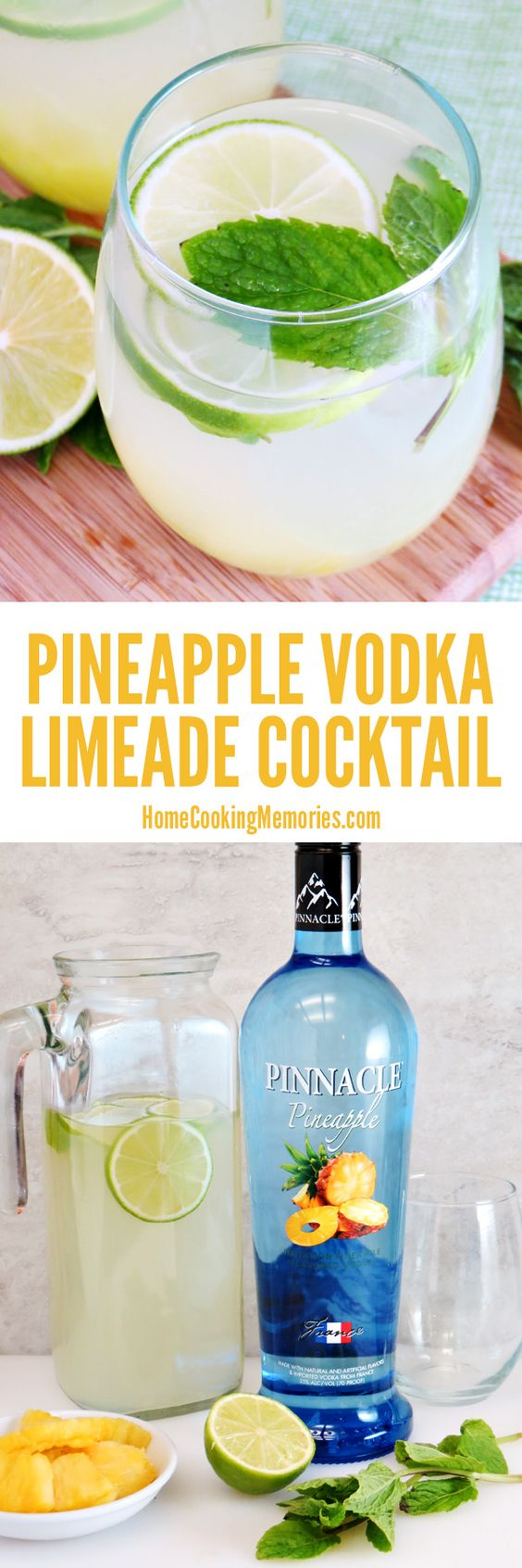 Pineapple vodka easy cocktails and vodka on pinterest for Vodka mixed drink recipes simple