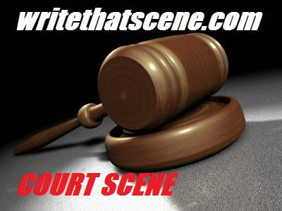 http://writethatscene.com/court-scene/ Court Scene  Image courtesy of Salvatore Vuono at FreeDigitalPhotos.net