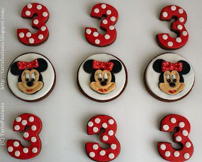 TartaFantasía: Galletas Minnie Mouse Clásicas