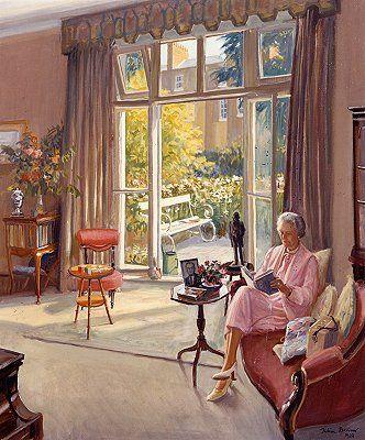 Reading and Art: Julian Barrow