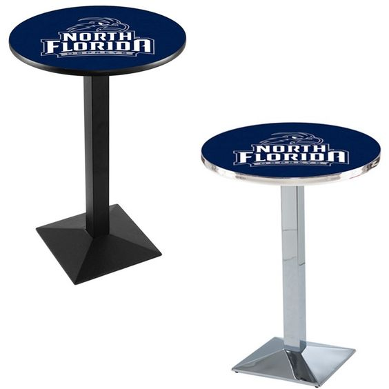 North Florida Ospreys Square-Base Pub Table - SportsFansPlus