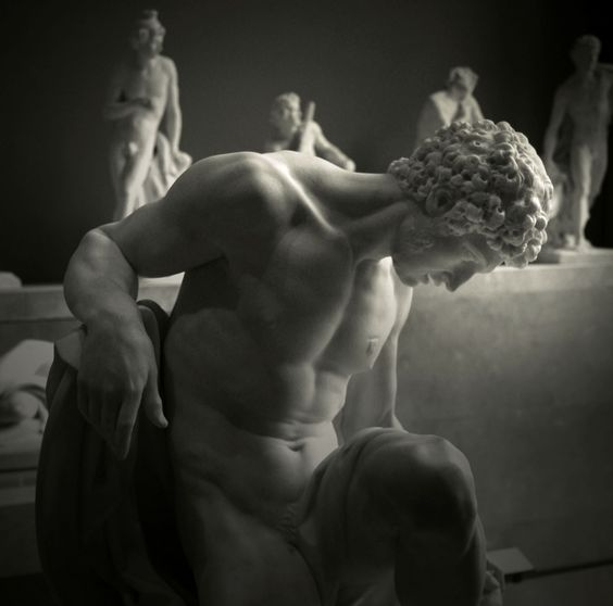 Statue - Gladiator Dying