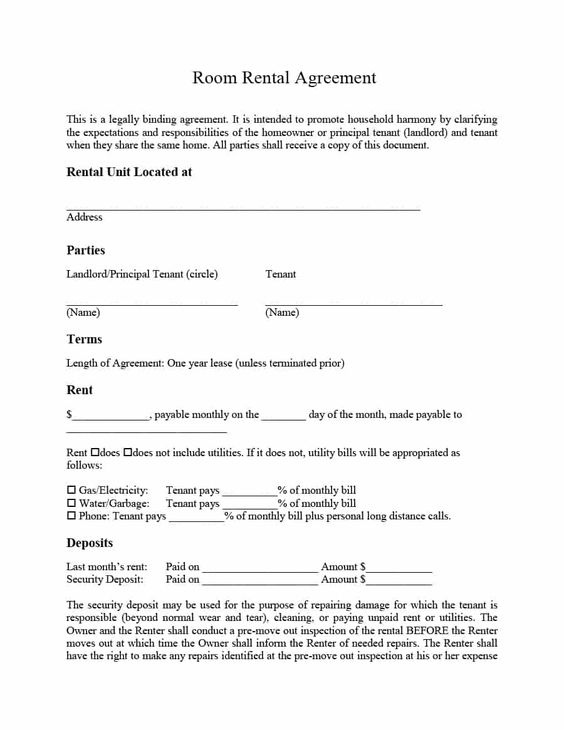 39 Simple Room Rental Agreement Templates Template Archive Room Rental Agreement Rental Agreement Templates Lease Agreement Free Printable