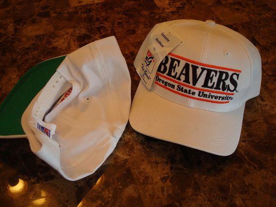 OREGON STATE BEAVERS GAME HAT CAP VINTAGE SNAPBACK