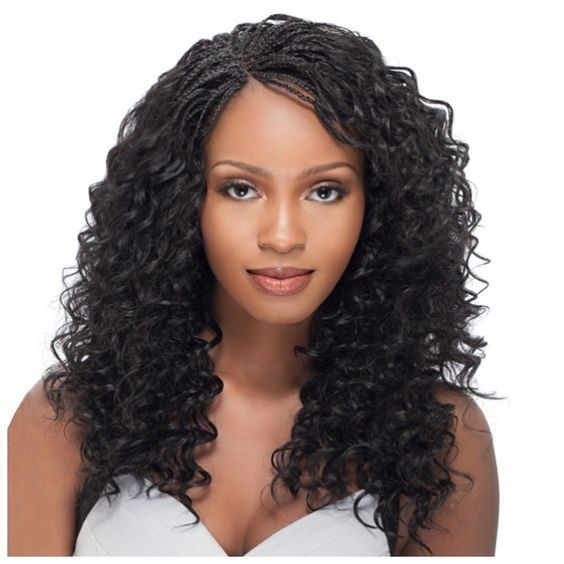"""100% Human Hair Outre French Deep Bulk Braiding (Choose Length: 20"""",18"""") in Clothing, Shoes & Accessories, Women's Accessories, Wigs, Extensions & Supplies 