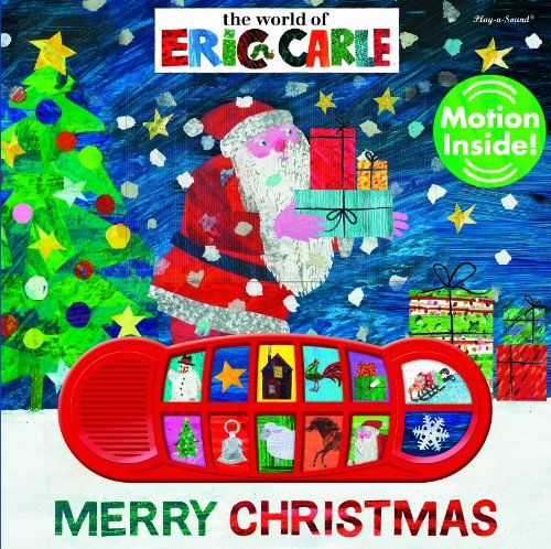 The World of Eric Carle: Merry Christmas: Play-a-Sound Book by Editors of Publications International