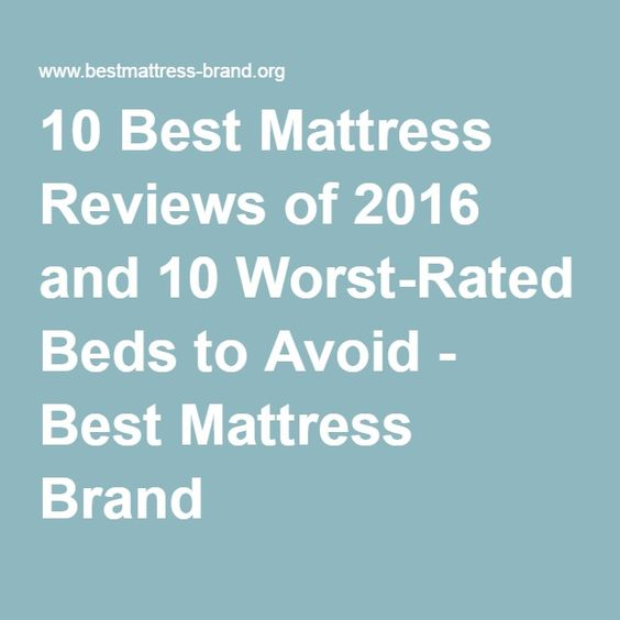 1000 Ideas About Best Mattress On Pinterest Mattresses
