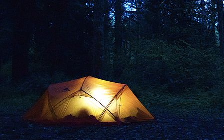 Camping at Milo McIver State Park