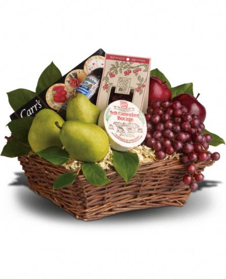 Delicious Delights Gift Basket, Delicious Delights Gift Basket Delivery - Teleflora.com