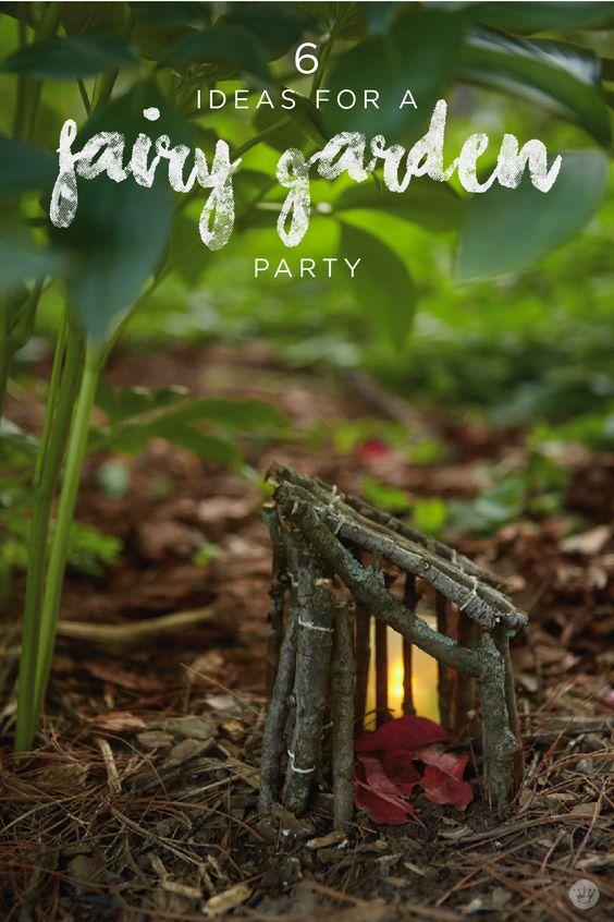 Host an enchanting fairy garden party diy fairy house for Hallmark fairy door