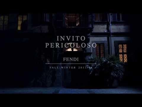 presentación de la nueva coleccion #fendi fall/winter 2013 #moda #fashion