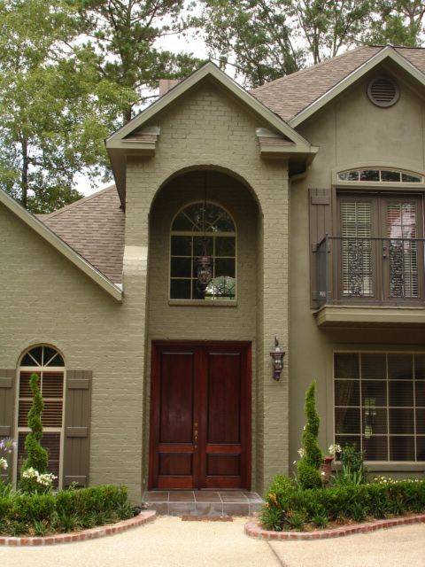 Exterior House Colors With Brown Roof Exterior Paint Colors Brown Roof Home  Designs Wallpapers For My Home Pinterest Brown Roofs Exterior House