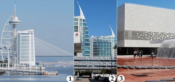 The best contemporary architecture and public art in Lisbon's Parque das Nações