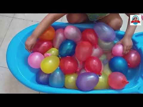 العاب بالونات الماء العاب بنات واولاد بالونات اطفال Youtube Ball Exercises Exercise Gym Equipment