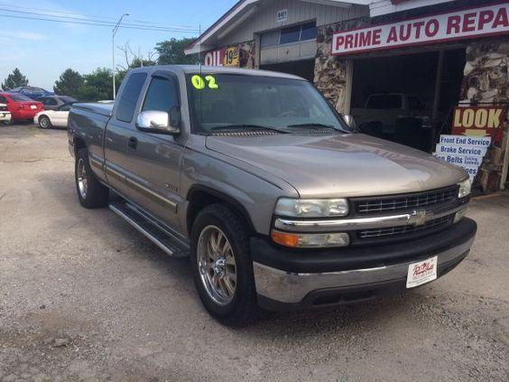 2002 Chevrolet Silverado 1500 LS Ext | $7995 | Prime Auto Sales - Omaha, NE | 402-715-4222 | #chevy #silverado #pickemuptruck #truck #auto #omaha #primeauto